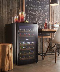 Sécurité du refroidisseur de vin-garder les enfants à l'extérieur